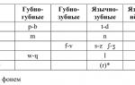 Французский алфавит, гласные и согласные