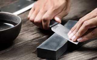 Как правильно точить ножи на станке