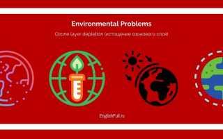 Топики по английскому на тему экология (ecology)