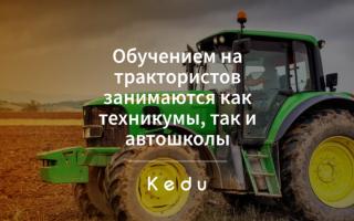 Склонение существительного «трактор» по падежам