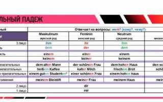 «падеж» перевод на немецкий