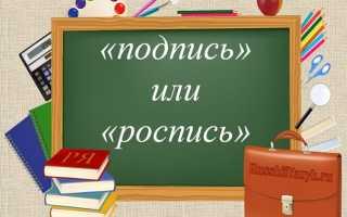Как правильно пишется, ударение в слове «подписывать»