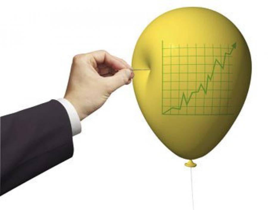 Финансовый или экономический пузырь — что это простыми словами и как его распознать?
