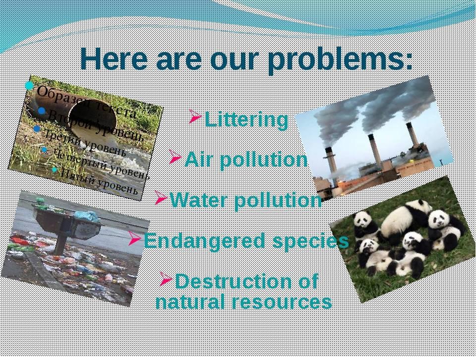 Об экологии на английском языке (сочинения с переводом)