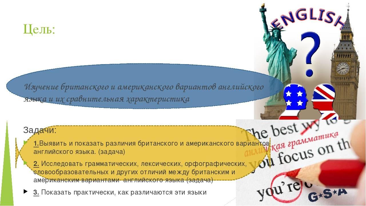 Цели и мотивы изучения английского языка