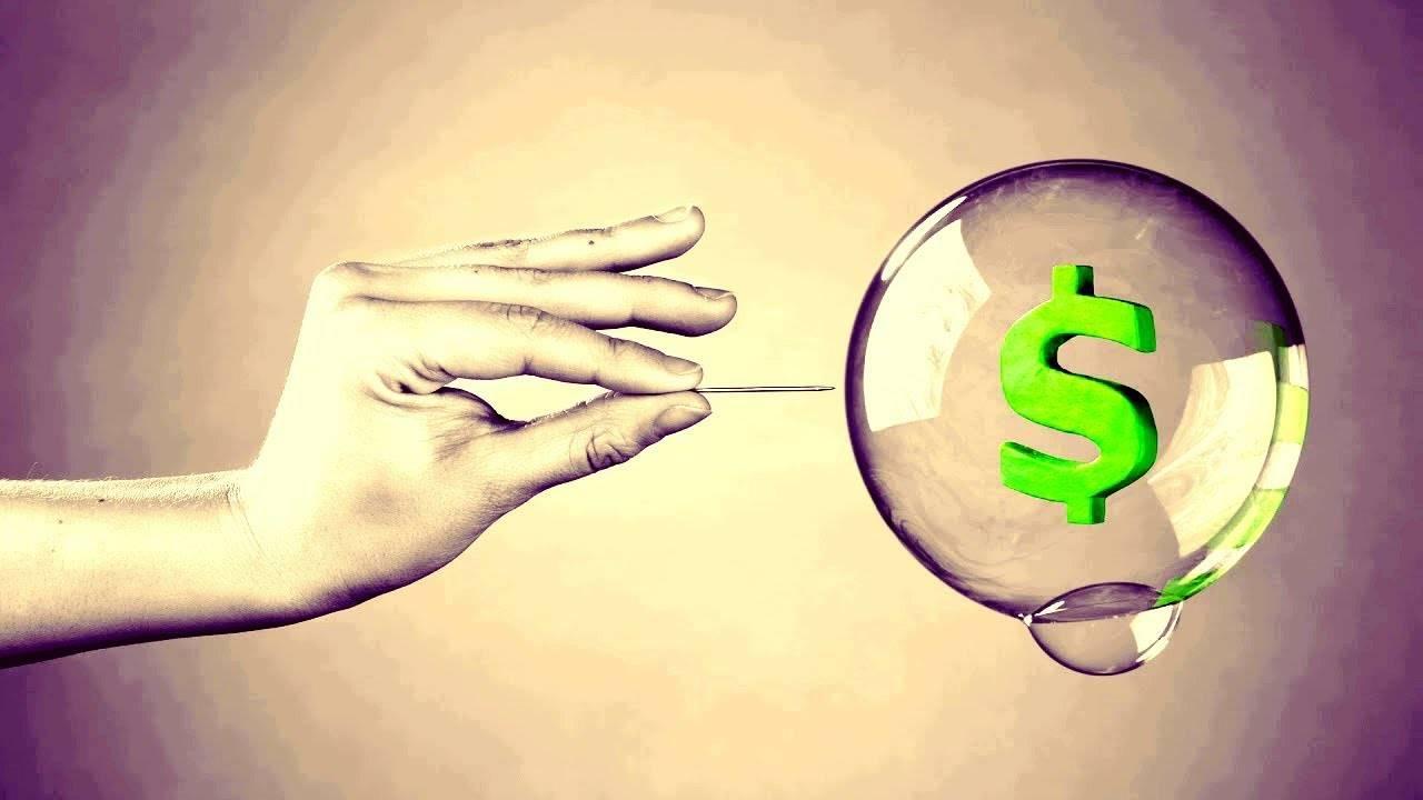 Как лопаются рыночные пузыри