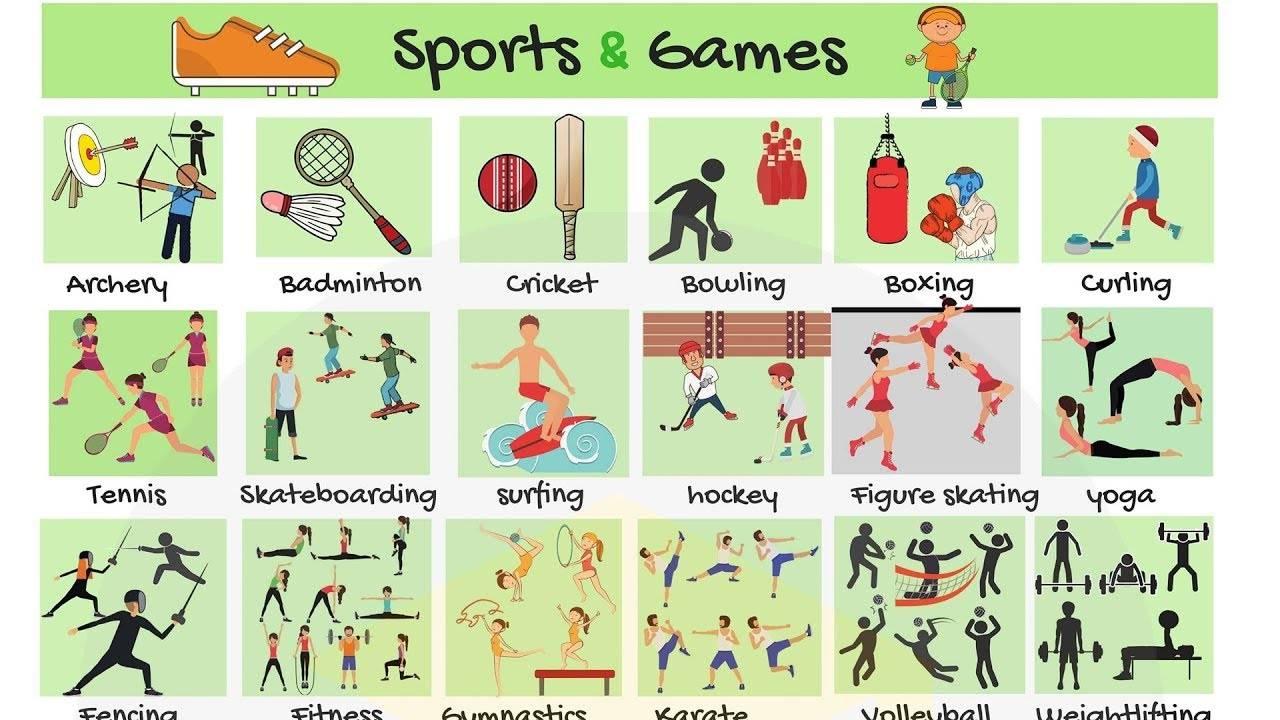 О спорте на английском языке ‹ топики