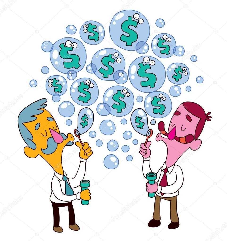 Финансовый пузырь: причины и следствия